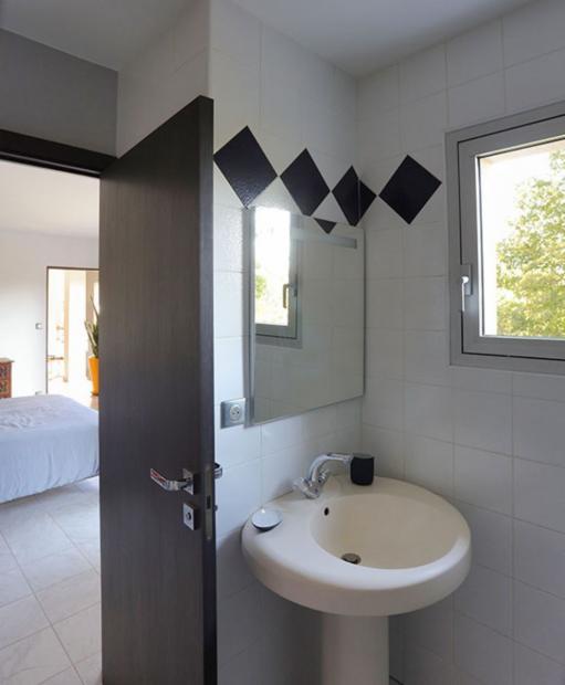 salle de bain individuelle, maison d'hôtes